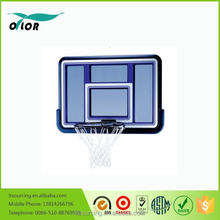 Deluxe blue wall mounting glass basketball board system