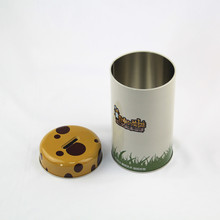 thin metal tin box money boxes wholesale round cans