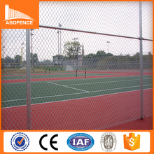 Low price Basketball field 5 foot pvc coated square chain link fence