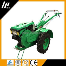 8-12HP motor diesel curta trator agrícola fazenda andando de trabalho nova 2wd atrás do trator com implementos