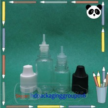 china bottle factory sell e liquid bottle with stopper 10 ml eliquid plastic vial