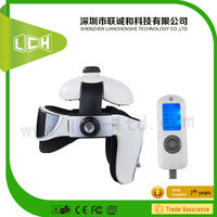 2015 HOT SALE Air Pressure Heated Acupuncture acupoint intelligent vibrating head care massager for health care
