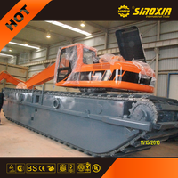 swamp excavator SX300SD buggy