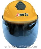 Anerte cheap popular safe half face moto helmet B-308 pp/abs half helmet industrial safety helmet