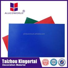 Alucoworld PVDF Coated ACP cost of ACP Sheet