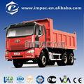 j6 8x4 6 rueda de faw camión de minería