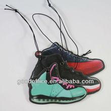 Hot sell sports shoe design hanging paper car freshener