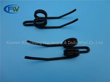 Manufacturer balack powder coated adjustable double torsion spring