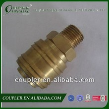 D type Steel Needle Lock coupler(Brass quick couplings)