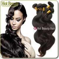 5A Body Wave Thick Human Unprocessed Brazilian Velvet Hair