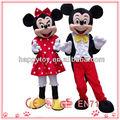 Oi felicidade minnie mouse mascote fantasia, mickey minnie mouse mascote