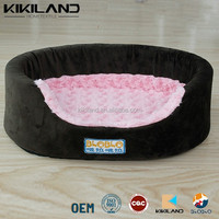New Pet Products Dog Bed Pet House Soft Warm Rose Velvet Kennel