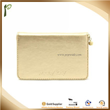 Popwide 2015Hot Fashion PU Small Cosmetic Bag with Little Mirror Inside