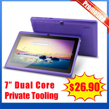 $26.9usd for 2014 china easydy 512MB 4G atm7021,rk3026 ,A23 7 inch tablet with keyboard