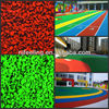 Colored Rubber Mulch For Playground FN-J-0319-14