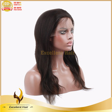 Made in china Chinese remi full lace wig with baby hair full lace wig