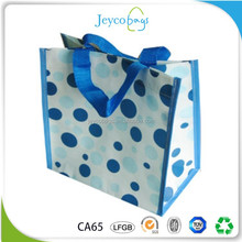 JEYCO BAGS Enviroment friendly ink pp woven tote bag with custom design