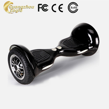 2015 The Most Popular Means Of Transporte Two 10 Inches Big Wheels Cool LED Electric Smart Hover Board Self Balancing Scooter