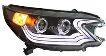 wholesale car accessory LED Head Light for HONDA CRV 2012 to 2014 year YZ V2 led headlight