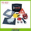 Nylon High quality and waterproof car first aid kit bag din 13164 triangle warning