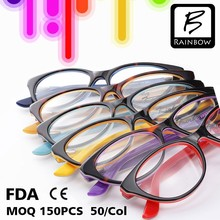 Lastest fancy colorful kids prescription glasses eyewears frames from ages 6 to16