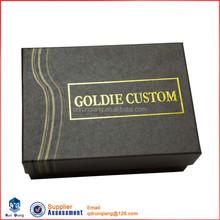Elegant cardboard handmade packaging box for hair extension