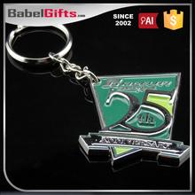 Factory direct sale custom metal photo frame key chains