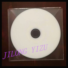 CPP CD Sleeve Clear Plastic Welded/Cheap CD DVD Packaging and Storaging