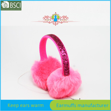 fur earmuff winter speaker to sleep