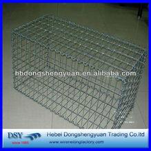 gabion box with chain link fence /square gabion box / hexagonal stone cage