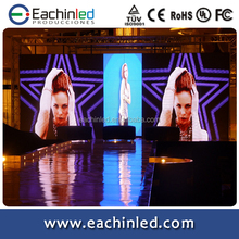 full color P4 mm indoor led display screen hanging installation for portable stage background