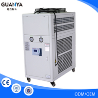 Can be customized fashionable compressor power 0.75kw water cooled chiller unit
