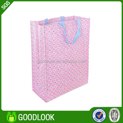 personalized durable foldable woven bag manufacturer GL105