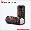 Brillipower e huge vamo 26650 battery imr 26650 3.7v 3500mah high drain battery