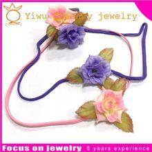 Aidocrystal handmade fashion flower white hair accessories,rhinestone bridal hair piece headband, wedding prom party fascinators