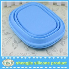 2015 wholesale school lunch box for children silicone lunch box container keep food hot