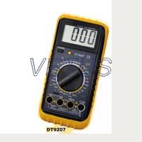 best price pocket size digital multimeter DT9207