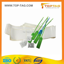 uhf rfid tag cable tags UHF Zip Tie Seal Passive RFID Tag for warehouse management
