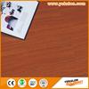 High density HDF Tap&Go locking Teak wood parquet flooring