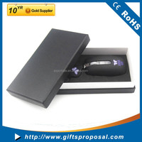 Promotional Gifts for Computer Accessories with Retractable Cable Mini Mouse and High-end Black Gift Box
