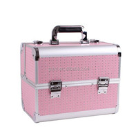 Fashional Beauty Aluminum Cosmetic Case for makeup artist