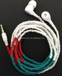 CE Rohs OEM ODM customization various thread earphone with mic for Xiaomi