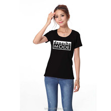 OEM printed t shirt woman t shirt design