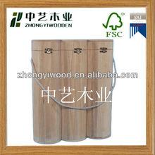 Hot selling wooden wine box for single bottle