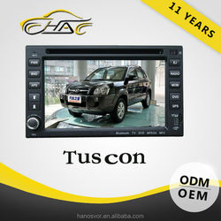 car radio 2 din for hyundai tucson with bluetooth tv gps car