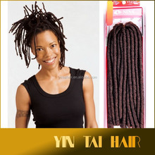Wholesale Cheap Price Kanekalon Hair Extension Jumbo Braid X-pression NINA Soft Dread Nina Softex Synthetic Hair