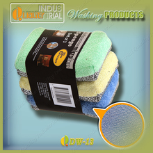 Alibaba Hot Sale washing pad, kitchen dish clean pad, cleaning sponge with cloth