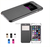 New Flip Leather Wallet View Window Skin Case Cover For iPhone 6 plus