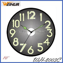 25cm decorative lighted wall clock 8003