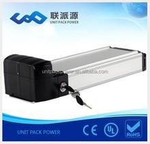 good price rear rack battery for electric bike 36v 10ah